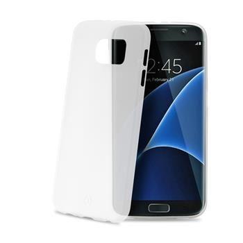 Ultra tenké TPU pouzdro CELLY Frost pro Samsung Galaxy S7 Edge, 0,29 mm, bílé