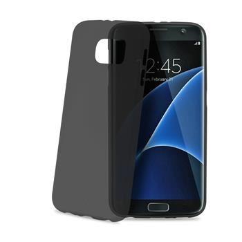 Ultra tenké TPU pouzdro CELLY Frost pro Samsung Galaxy S7 Edge, 0,29 mm, černé