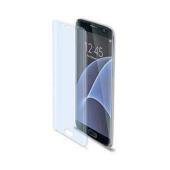 Prémiová ochranná fólie displeje CELLY pro Samsung Galaxy S7 Edge,  lesklá
