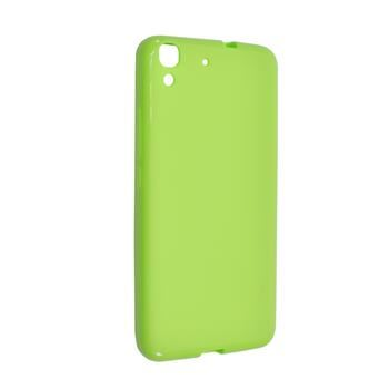 TPU gelové pouzdro FIXED pro Huawei Y6, zelené