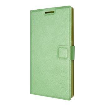 Pouzdro typu kniha FIXED s gelovou vaničkou pro Lenovo P70, zelené