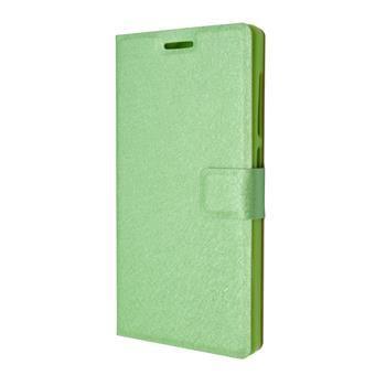 Pouzdro typu kniha FIXED s gelovou vaničkou pro Lenovo Vibe X2, zelené