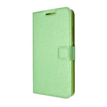 Pouzdro typu kniha FIXED s gelovou vaničkou pro Lenovo A5000, zelené