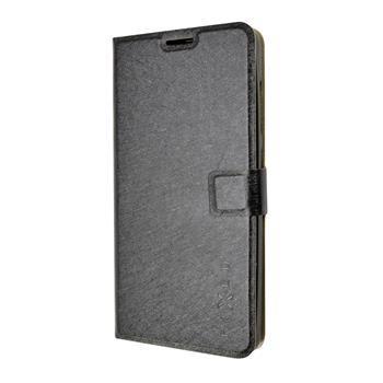 Pouzdro typu kniha FIXED s gelovou vaničkou pro Lenovo Vibe P1, černé