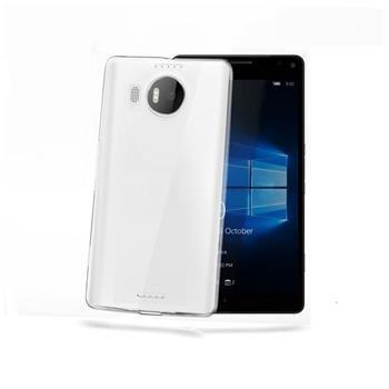 TPU pouzdro CELLY Gelskin pro Microsoft Lumia 950 XL, bezbarvé
