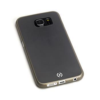 Ultra tenké TPU pouzdro CELLY Frost pro Samsung Galaxy S6 Edge Plus, 0,29 mm, černé