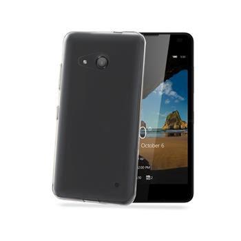 TPU pouzdro CELLY Gelskin pro Microsoft Lumia 550, bezbarvé