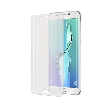 Prémiová ochranná fólie displeje CELLY pro Samsung Galaxy S6 Edge, do krajů displeje, lesklá
