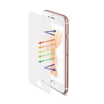 Ochranné tvrzené sklo CELLY Glass pro Apple iPhone 6/6S Plus, 0,3mm, matné
