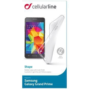 TPU pouzdro Cellularline SHAPE pro Samsung Galaxy Grand Prime G530