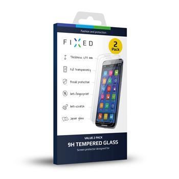 2 ks - Ochranné tvrzené sklo FIXED pro Apple iPhone 6/6S, 0.33 mm