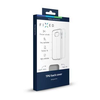TPU gelové pouzdro FIXED pro Samsung Galaxy S7 Edge, kouřové