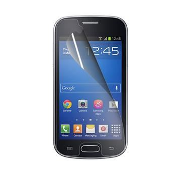 Prémiová ochranná fólie displeje CELLY pro Samsung Galaxy Trend 2 Lite, lesklá, 2ks
