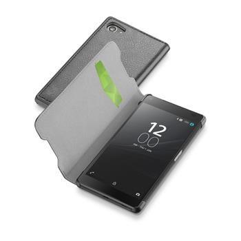 Pouzdro typu kniha CellularLine Book Essential pro Sony Xperia Z5 COMPACT, černé