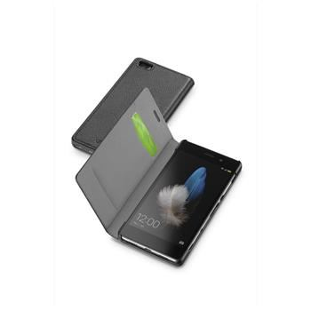 Pouzdro typu kniha CellularLine Book Essential pro Huawei P8 LITE, černé