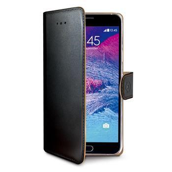 Pouzdro typu kniha CELLY Wally pro Samsung Galaxy Note 5, PU kůže, černé