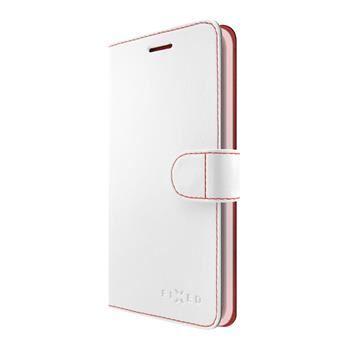 Pouzdro typu kniha FIXED FIT pro Huawei Y3 II, bílé