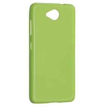 TPU gelové pouzdro FIXED pro Microsoft Lumia 650, zelené