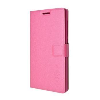 Pouzdro typu kniha FIXED s gelovou vaničkou pro Lenovo A6010, růžové