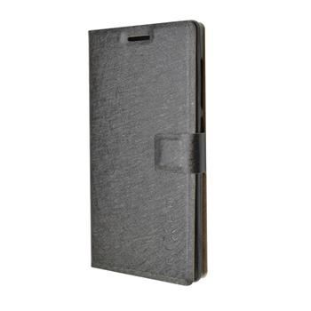 """Pouzdro typu kniha FIXED s gelovou vaničkou pro ASUS Zen Fone GO (5"""") ZC500TG, černé"""