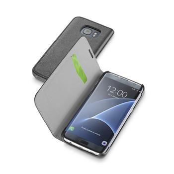 Pouzdro typu kniha CellularLine Book Essential pro Samsung Galaxy S7 EDGE, černé