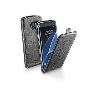 Pouzdro CellularLine Flap Essential pro Samsung Galaxy S7 EDGE, černé