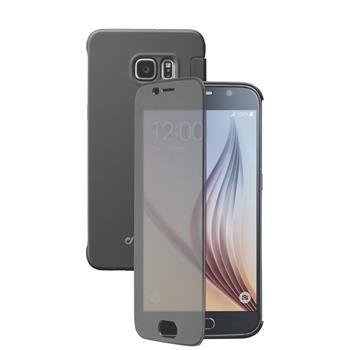 Pouzdro typu kniha Cellularline TOUCH s dotykovým čelním krytem pro Samsung Galaxy S6, černé
