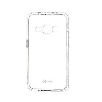 TPU pouzdro CELLY Gelskin pro Samsung Galaxy J1 (2016), bezbarvé