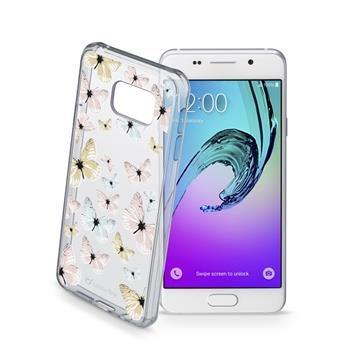Průhledné gelové pouzdro Cellularline STYLE pro Samsung Galaxy A3 (2016), motiv FLY