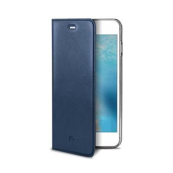 Pouzdro typu kniha CELLY Air Pelle pro Apple iPhone 7 Plus, pravá kůže, modré