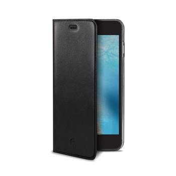 Pouzdro typu kniha CELLY Air Pelle pro Apple iPhone 7 Plus, pravá kůže, černé