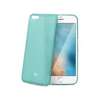 Ultra tenké TPU pouzdro CELLY Frost pro Apple iPhone 7, 0,29 mm, tyrkysové