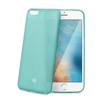 Ultra tenké TPU pouzdro CELLY Frost pro Apple iPhone 7 Plus, 0,29 mm, tyrkysové