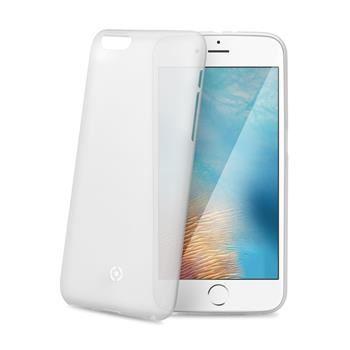 Ultra tenké TPU pouzdro CELLY Frost pro Apple iPhone 7 Plus, 0,29 mm, bílé