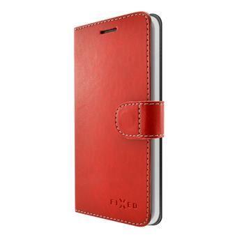 Pouzdro typu kniha FIXED FIT pro Sony Xperia XA, červené