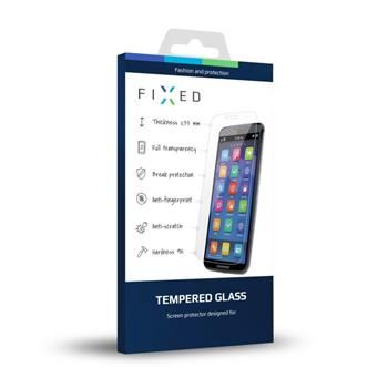 Ochranné tvrzené sklo FIXED pro SonyXperiaE5, 0.33 mm