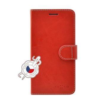 Pouzdro typu kniha FIXED FIT pro Apple iPhone 7 Plus, červené