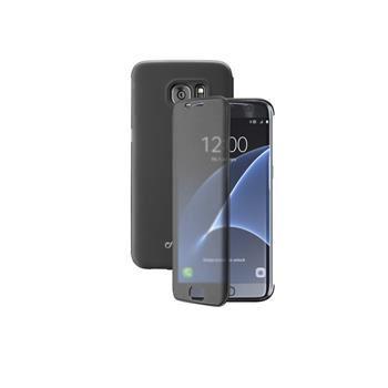 Pouzdro typu kniha Cellularline TOUCH s dotykovým čelním krytem pro Samsung Galaxy S7 EDGE, černé