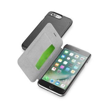 Pouzdro typu kniha CellularLine Book Essential pro Apple iPhone 7 Plus, černé