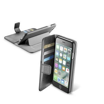 Pouzdro typu kniha CellularLine Book Agenda pro Apple iPhone 7, černé