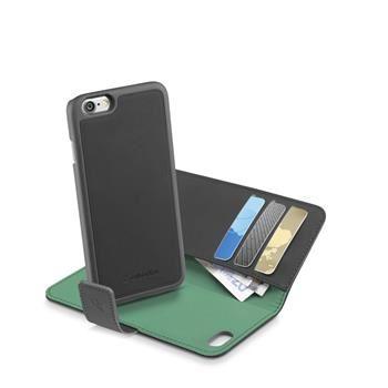 Pouzdro typu kniha CellularLine COMBO 2v1, odnímatelný zadní kryt, pro Apple iPhone 7, černé