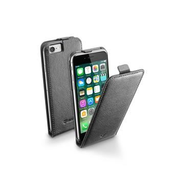 Pouzdro CellularLine Flap Essential pro Apple iPhone 7, černé