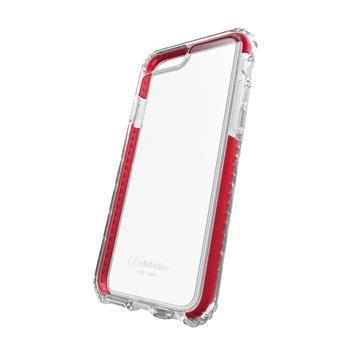 Ultra ochranné pouzdro Cellularline TETRA FORCE CASE PRO pro Apple iPhone 7, 3 stupně ochrany, červené