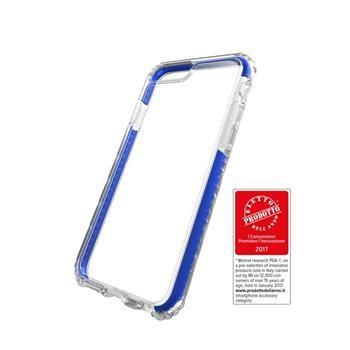 Ultra ochranné pouzdro Cellularline TETRA FORCE CASE PRO pro Apple iPhone 7 Plus, 3 stupně ochrany, modré