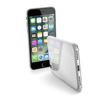Ultratenký zadní kryt CellularLine ZERO pro Apple iPhone 7, čirý + fólie