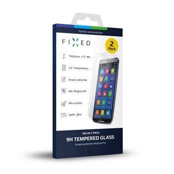 2 ks - Ochranné tvrzené sklo FIXED pro Huawei Y6 Pro, 0.33 mm
