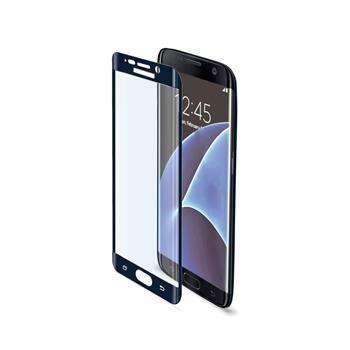 Ochranné tvrzené sklo CELLY Glass pro Samsung Galaxy S7 Edge, černé