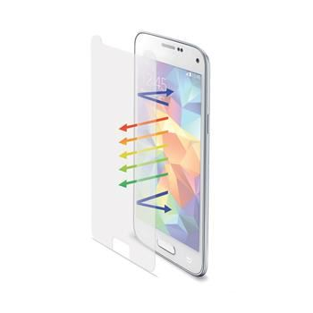 Ochranné tvrzené sklo CELLY Glass pro Galaxy S5/S5 Neo, matné