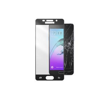Ochranné tvrzené sklo pro celý displej CellularLine CAPSULE pro Samsung Galaxy A3 (2016), černé