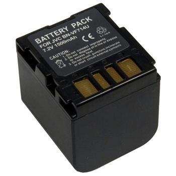 Baterie Extreme Energy typ JVC BN-VF714U, Li-Ion 2400 mAh, černá